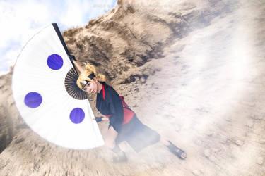 Naruto Sand Siblings: Temari by Jencus
