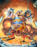 Megaman Zero VS Poler Kamrous by Popsaart