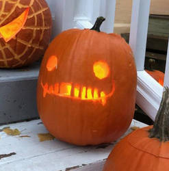 Pumpkins 2018- grin by NycroShears