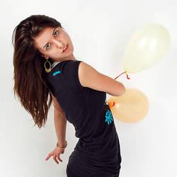 Balloon Dance by BlackBirdGarden