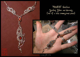 ooak - FENRIR necklace by somk