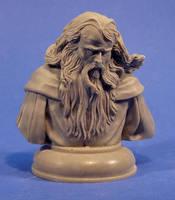 wizard bust by sculptart31