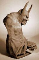 batman bust 3 by sculptart31