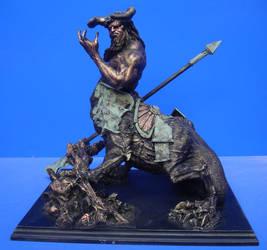 dragon ogre centaure by sculptart31