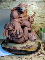 minotaure by sculptart31