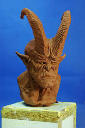 cornu bust by sculptart31