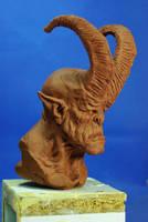 cornu bust2 by sculptart31