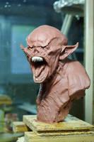 vampire bust3 by sculptart31