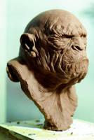 Apeman2 by sculptart31