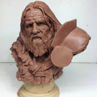 depardiou barbarian by sculptart31