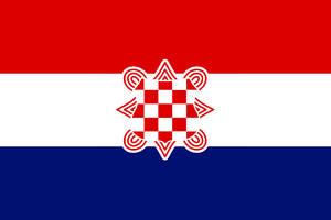 Flag of th Croatian Confederation by Linumhortulanus