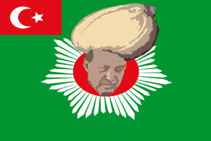 The new flag of Turkey by Linumhortulanus