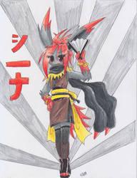 Ninja Jolteon is Ninja by MahoxyShoujo