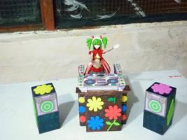 Weird Toyz: DJ Tsugaru's new DJ system by halconfenix