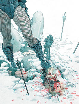 Black Canary Trample by Peter1327