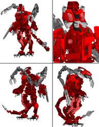 3D work : Dark Hunter Lurker by vahki6