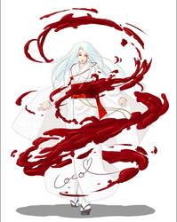 Yuki Shiro commission by GodOfBadWeather