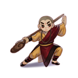 Shaolin of Temple kid by ryusin