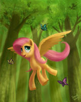 Fluttering by EmeraldGalaxy
