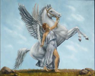 Pegasus by nicoletaggart