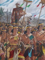 Helaman's Stripling Warriors by nicoletaggart