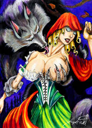 Not So Little Red Ridding Hood by J-W-White