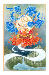 Aang from Avatar: The Last Airbender by yienyien