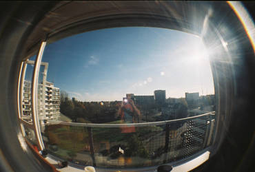 Amsterdam Fisheye by dreamertom
