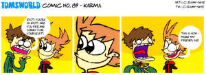 TWComic No. 89 - Karma by RAIINY-SKYE