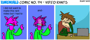 TWComic No. 94 - Video Rants by RAIINY-SKYE