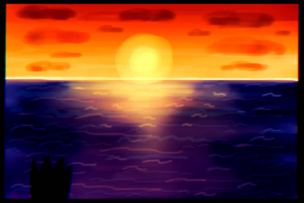 Sunset by RAIINY-SKYE