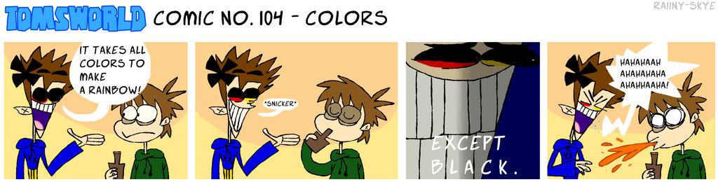 TWComic No. 104 - Colors by RAIINY-SKYE