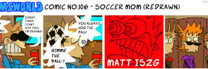 TWComic No. 106 - Soccer Mom (REDRAWN) by RAIINY-SKYE