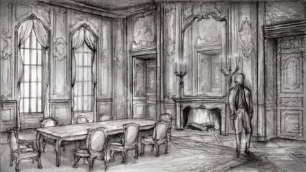 A Baroque Interior by Swolf330