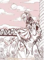 OC: monochrome side by Toriichi