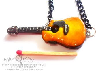 Sunburst guitar: Scale by margemagtoto