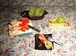 Fresh Spring Rolls (Lumpiang Sariwa) Prep Board by margemagtoto