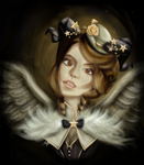 The winged fair lady by margemagtoto