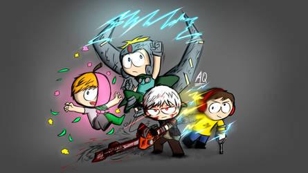DLC Team by aq1218