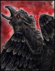 ACEO - LadyFromEast (.:Bringer of the Darkness:.) by DarkAfi4