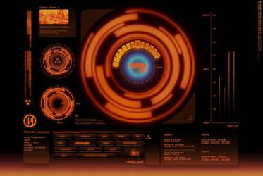 Red Alert Interface by metalkid