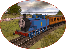 Railway Series Portraits - Thomas by wildnorwester