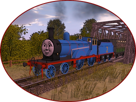 Railway Series Portraits - Edward by wildnorwester