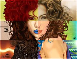 Curly Collab by yanski19