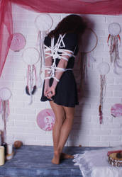 Julia in a black dress3 by anton19862007