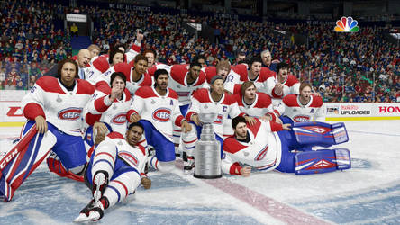 Montreal Canadiens Stanley Cup Champs by NightmareRacer85