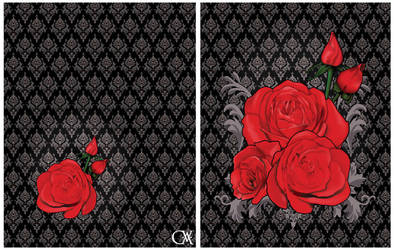 Victorian roses by ElkeF