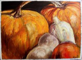 Stilleben in Orange by blonde-gypsy