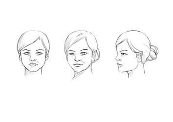 Ferris' face: dem angles by HailComic