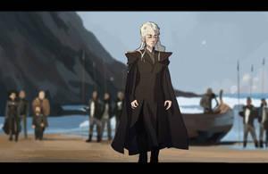 (Study) Daenerys Targaryen by The-Poumi
